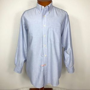 Brooks Brothers Mens 16-33 Relaxed Fit Button Down